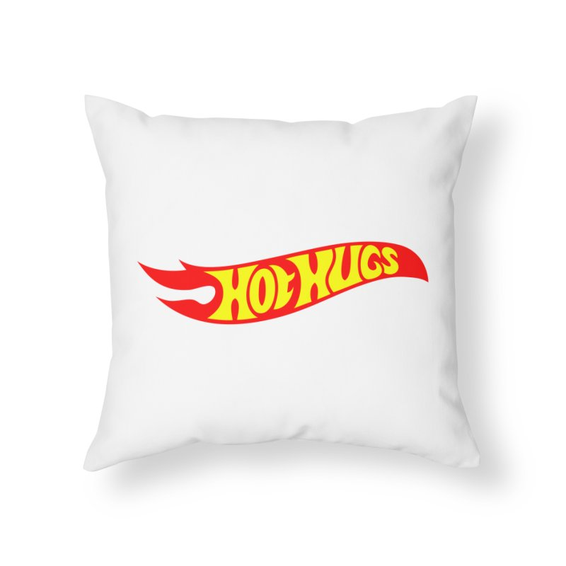 Hot Hugs Home Throw Pillow by Richard Favaloro's Shop