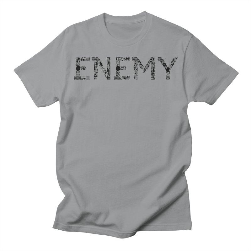 Know Your ENEMY (B) Women's Regular Unisex T-Shirt by Richard Favaloro's Shop