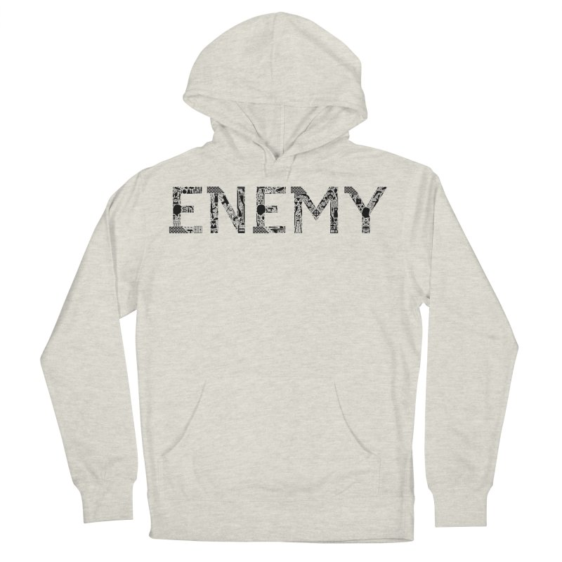 Know Your ENEMY (B) Men's Pullover Hoody by Richard Favaloro's Shop