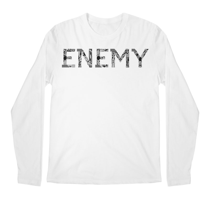 Know Your ENEMY (B) Men's Longsleeve T-Shirt by Richard Favaloro's Shop