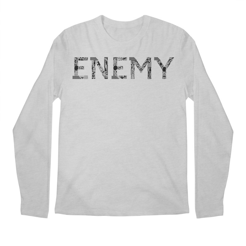 Know Your ENEMY (B) Men's Regular Longsleeve T-Shirt by Richard Favaloro's Shop