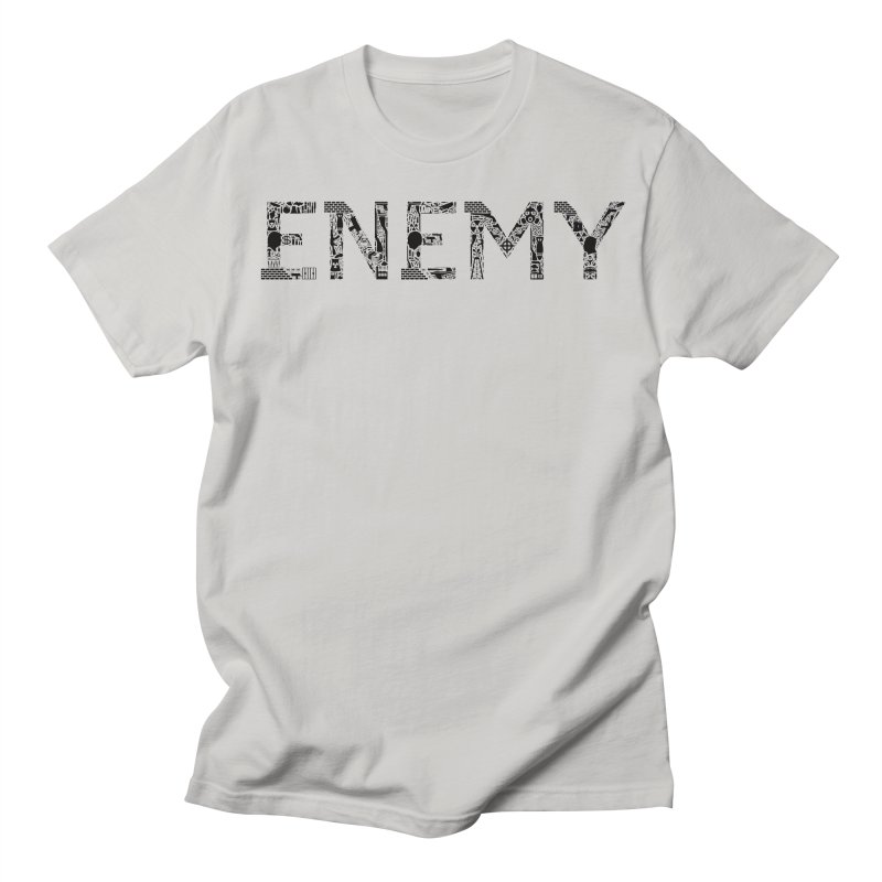 Know Your ENEMY (B) Men's T-Shirt by Richard Favaloro's Shop