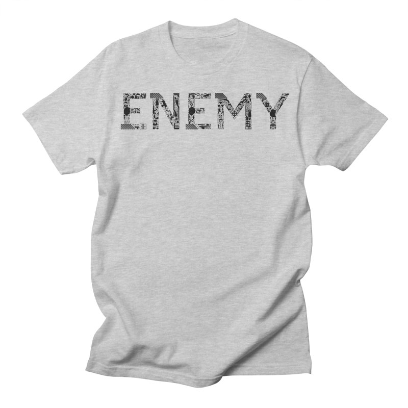 Know Your ENEMY (B) Men's Regular T-Shirt by Richard Favaloro's Shop