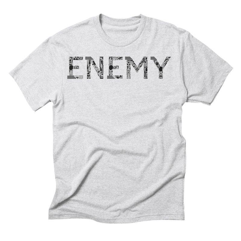 Know Your ENEMY (B) Men's Triblend T-Shirt by Richard Favaloro's Shop