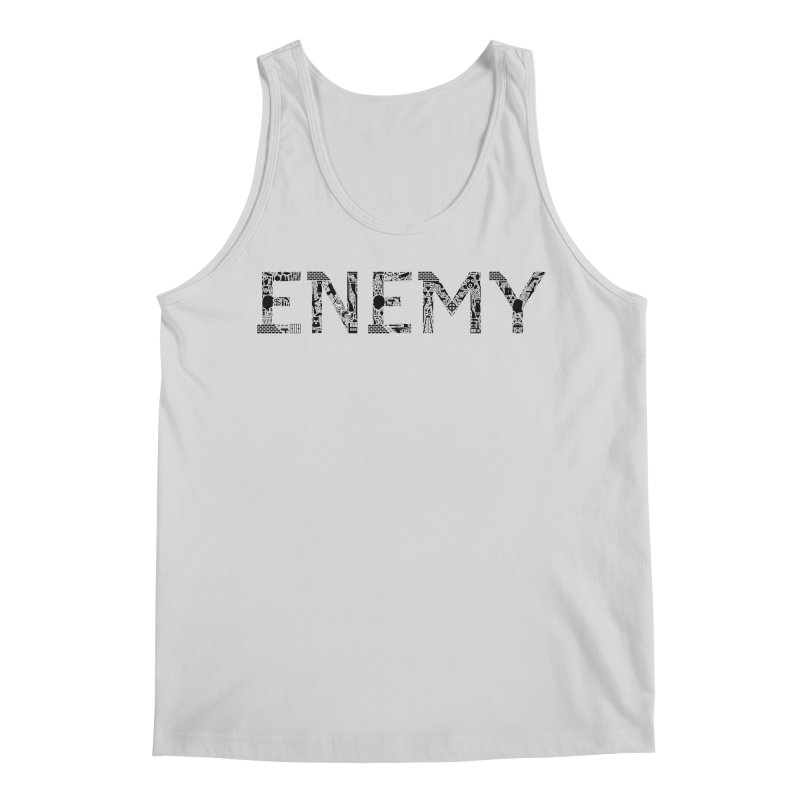 Know Your ENEMY (B) Men's Regular Tank by Richard Favaloro's Shop