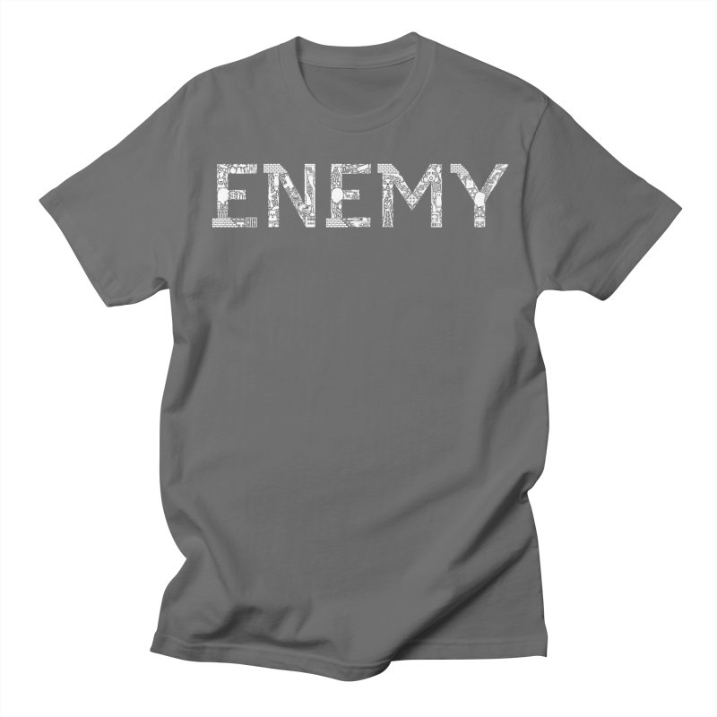 Know Your ENEMY (W) Men's T-Shirt by Richard Favaloro's Shop