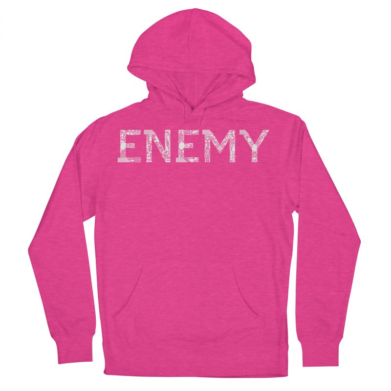 Know Your ENEMY (W) Men's French Terry Pullover Hoody by Richard Favaloro's Shop