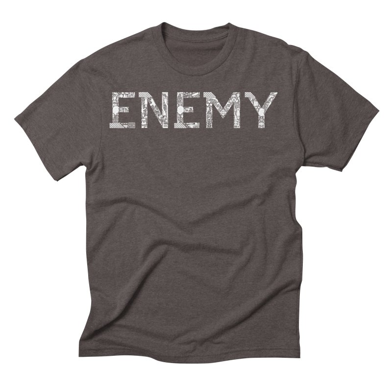 Know Your ENEMY (W) Men's Triblend T-Shirt by Richard Favaloro's Shop
