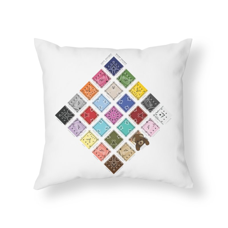 Know the Code Home Throw Pillow by Richard Favaloro's Shop