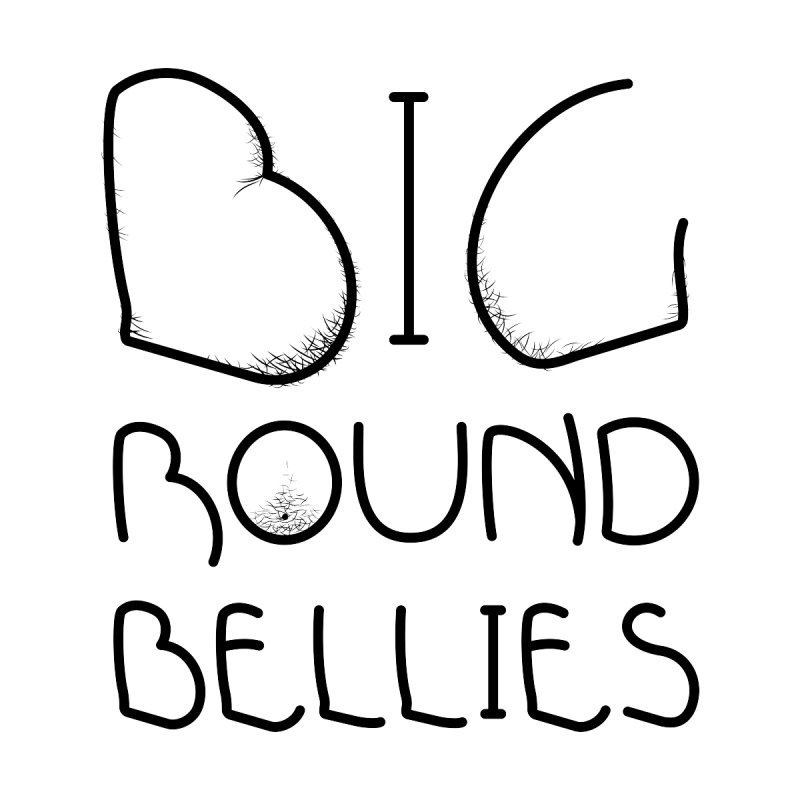 BIG ROUND BELLIES Men's T-Shirt by Richard Favaloro's Shop
