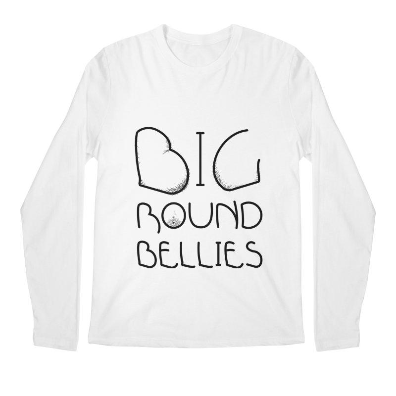 BIG ROUND BELLIES Men's Regular Longsleeve T-Shirt by Richard Favaloro's Shop