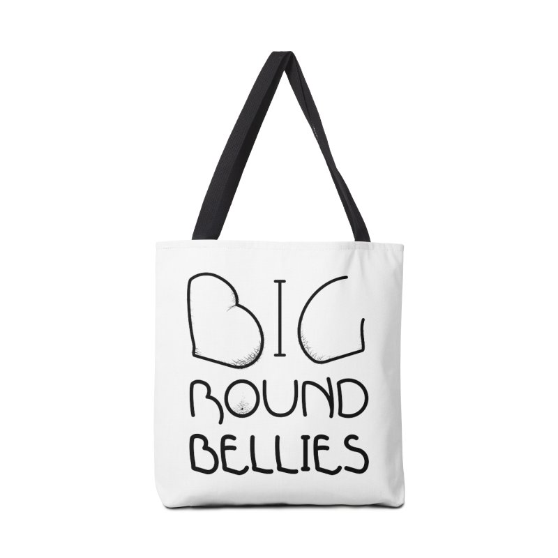 BIG ROUND BELLIES (BOLDER) Accessories Tote Bag Bag by Richard Favaloro's Shop