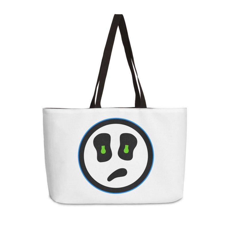 Mega Face Accessories Weekender Bag Bag by Richard Favaloro's Shop