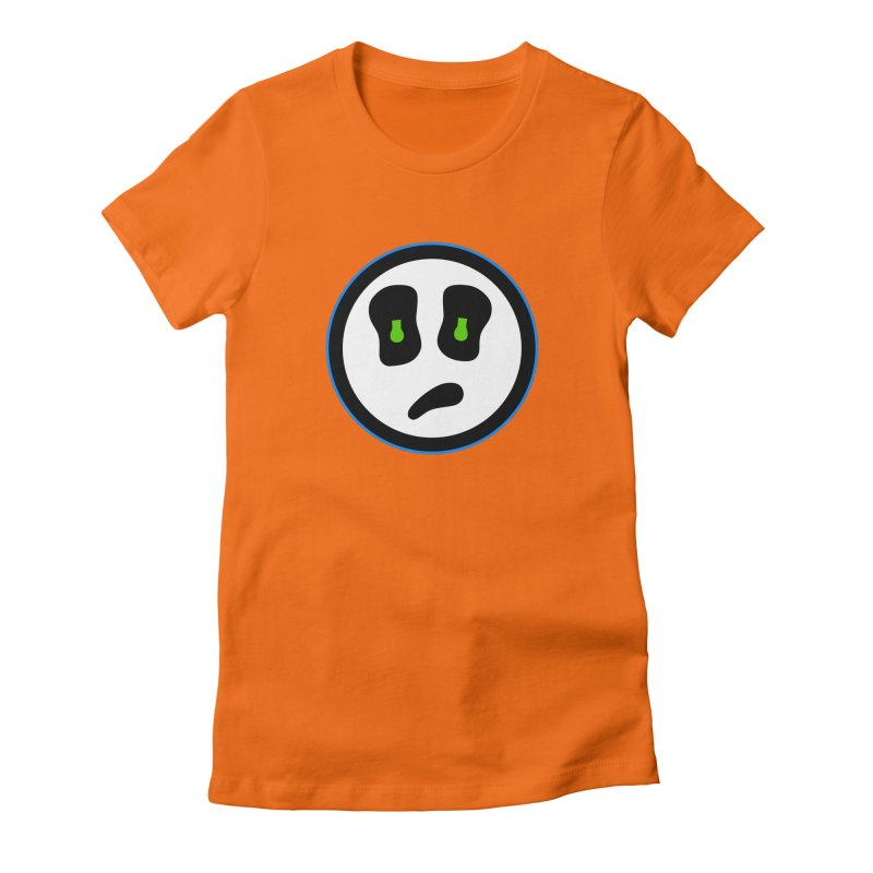 Mega Face Women's Fitted T-Shirt by Richard Favaloro's Shop