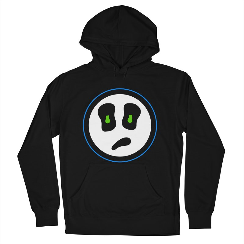 Mega Face Men's French Terry Pullover Hoody by Richard Favaloro's Shop