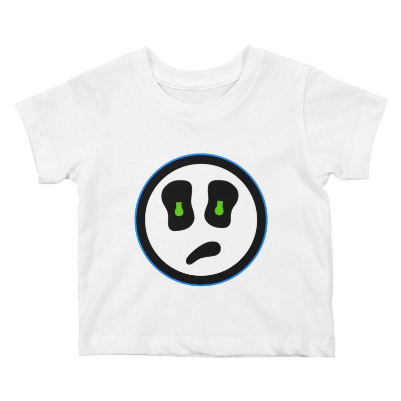 Mega Face Kids Baby T-Shirt by Richard Favaloro's Shop