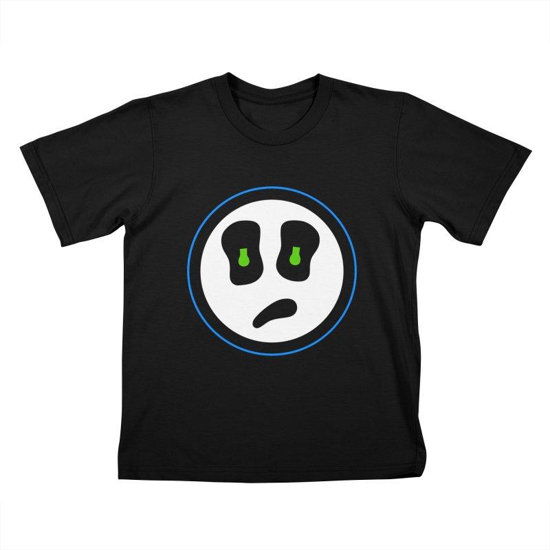 Mega Face Kids T-Shirt by Richard Favaloro's Shop