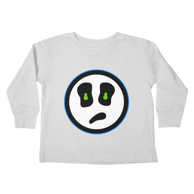 Mega Face Kids Toddler Longsleeve T-Shirt by Richard Favaloro's Shop