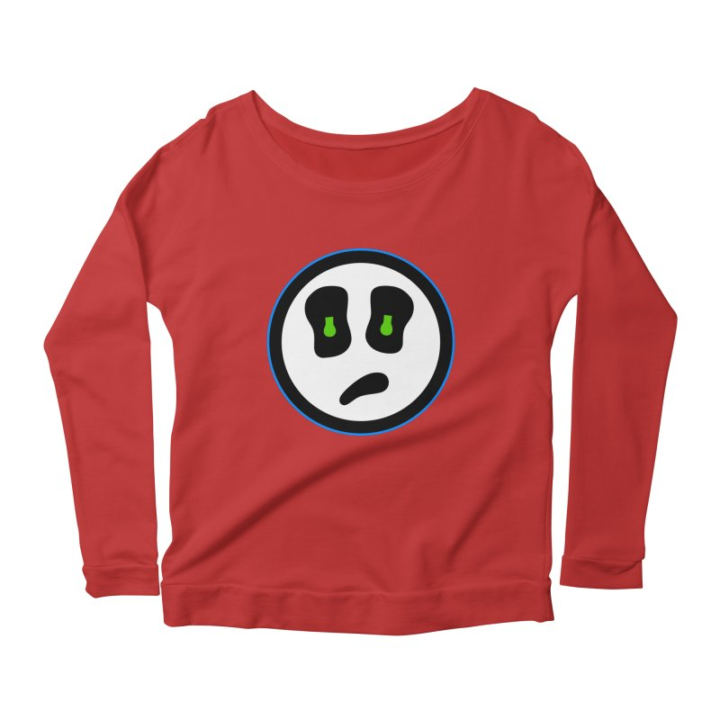 Mega Face Women's Scoop Neck Longsleeve T-Shirt by Richard Favaloro's Shop