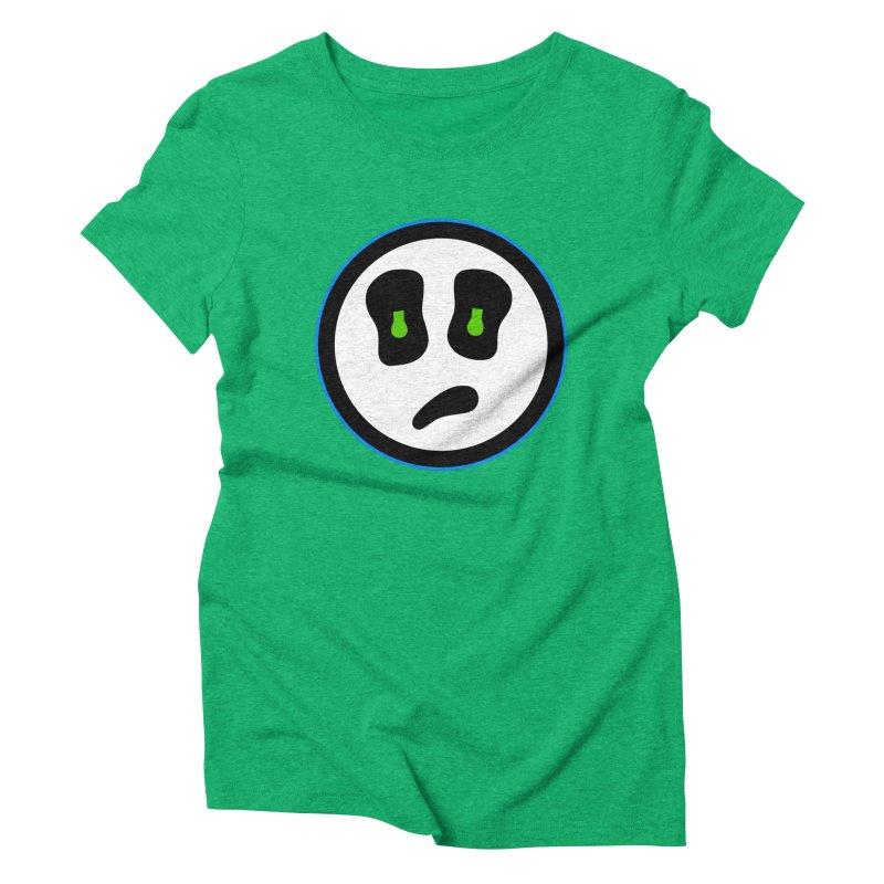 Mega Face Women's Triblend T-Shirt by Richard Favaloro's Shop