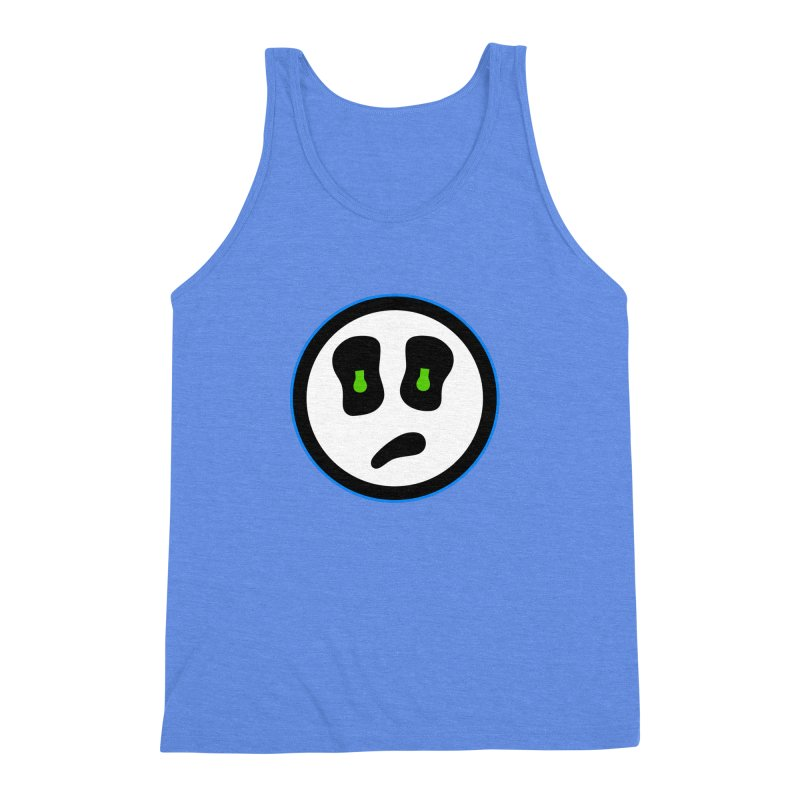 Mega Face Men's Triblend Tank by Richard Favaloro's Shop
