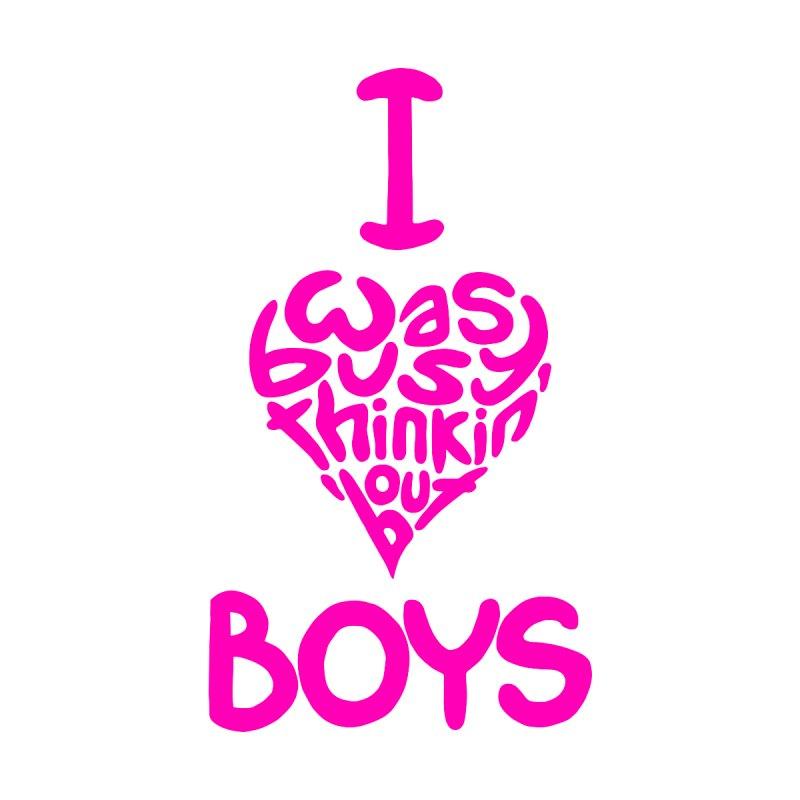 I <3 Boys Men's T-Shirt by Richard Favaloro's Shop
