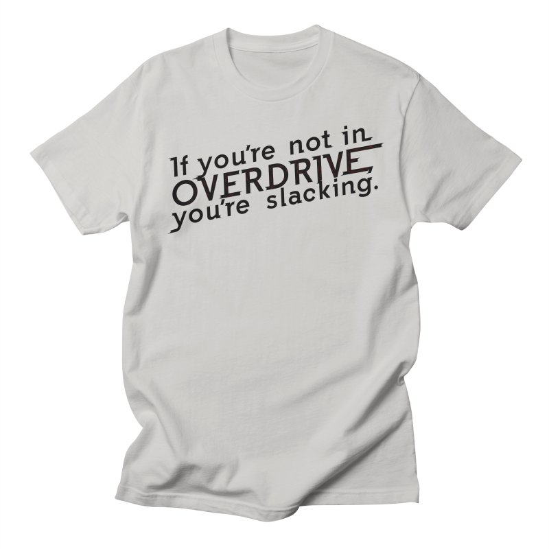 Overdrive Men's Regular T-Shirt by Richard Favaloro's Shop