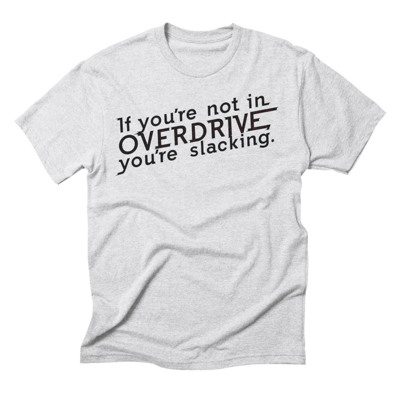 Overdrive Men's Triblend T-Shirt by Richard Favaloro's Shop