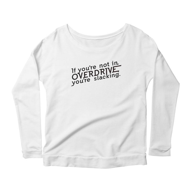 Overdrive Women's Scoop Neck Longsleeve T-Shirt by Richard Favaloro's Shop