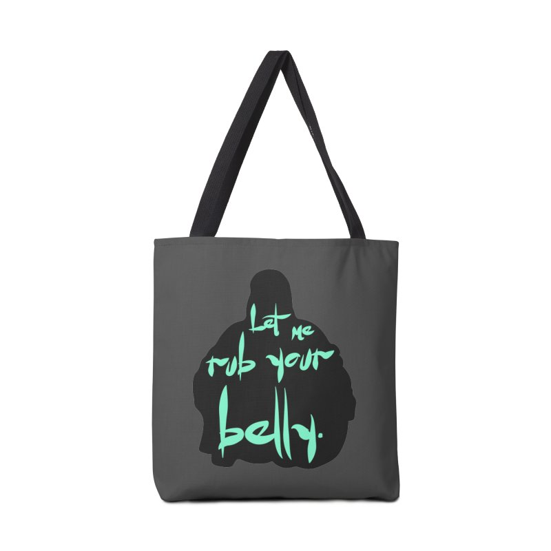 Buddha Belly Accessories Tote Bag Bag by Richard Favaloro's Shop