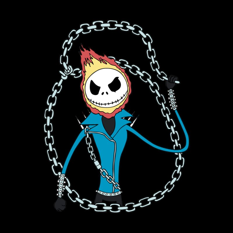 jack skellington rider by richardtpotter's Artist Shop