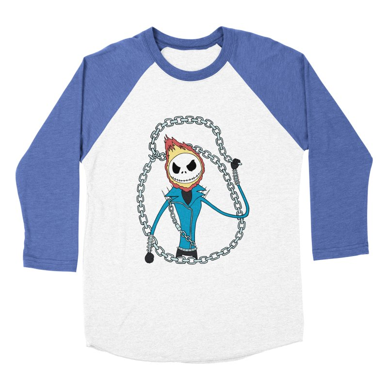 jack skellington rider Women's Baseball Triblend T-Shirt by richardtpotter's Artist Shop