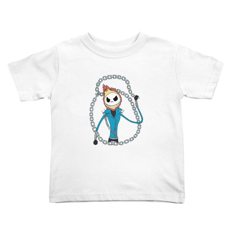 jack skellington rider Kids Toddler T-Shirt by richardtpotter's Artist Shop