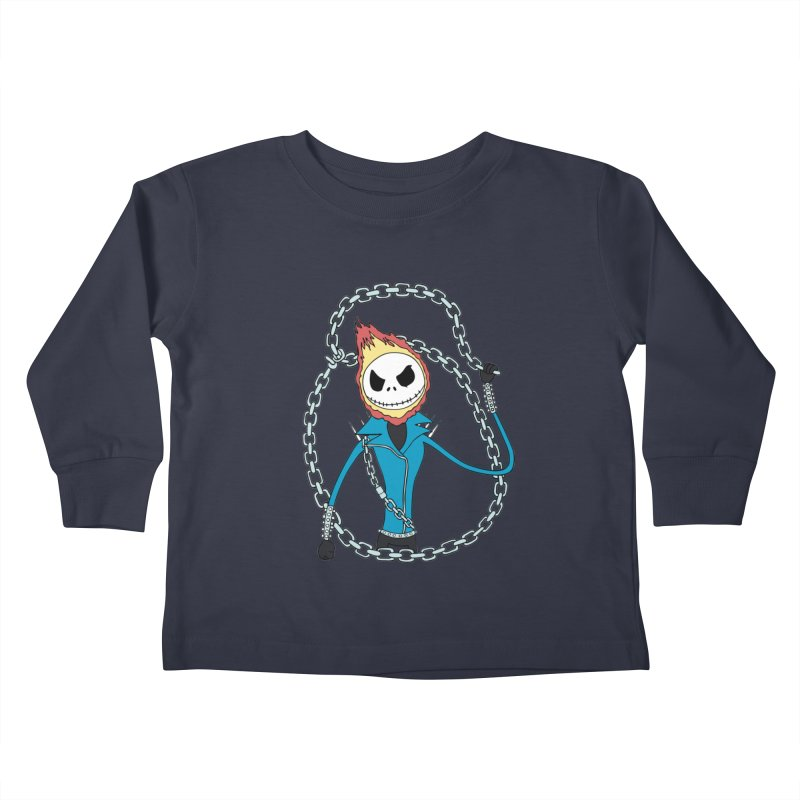 jack skellington rider Kids Toddler Longsleeve T-Shirt by richardtpotter's Artist Shop