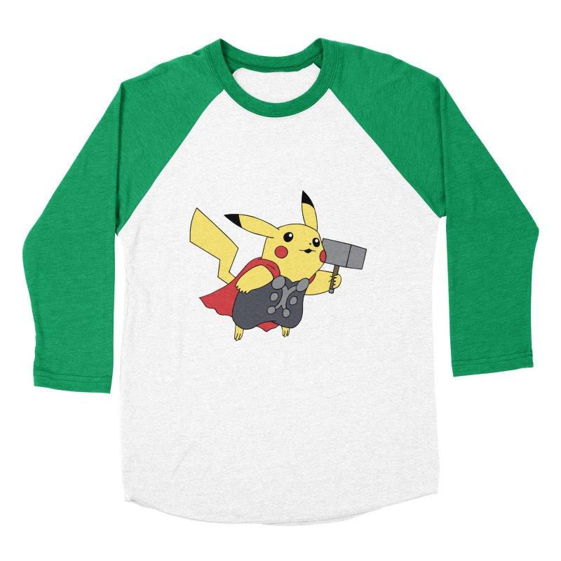 Pikathor Men's Baseball Triblend T-Shirt by richardtpotter's Artist Shop