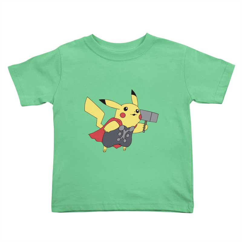 Pikathor Kids Toddler T-Shirt by richardtpotter's Artist Shop