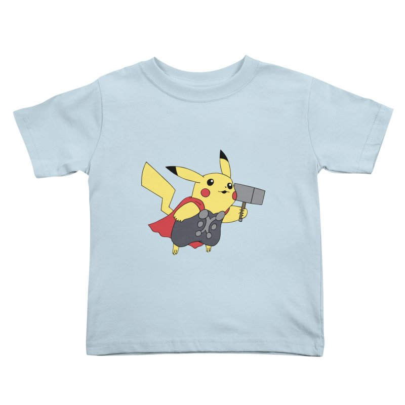 Pikathor Kids Toddler T-Shirt by richardtpotter's Artist Shop