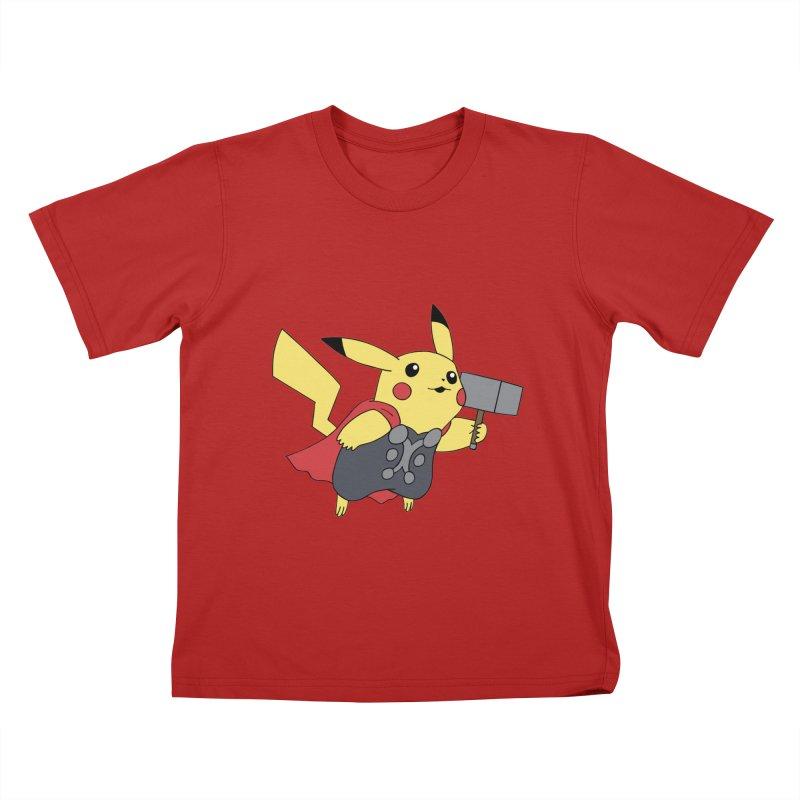 Pikathor Kids T-shirt by richardtpotter's Artist Shop