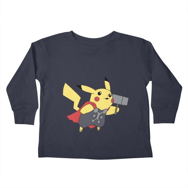 Pikathor Kids Toddler Longsleeve T-Shirt by richardtpotter's Artist Shop