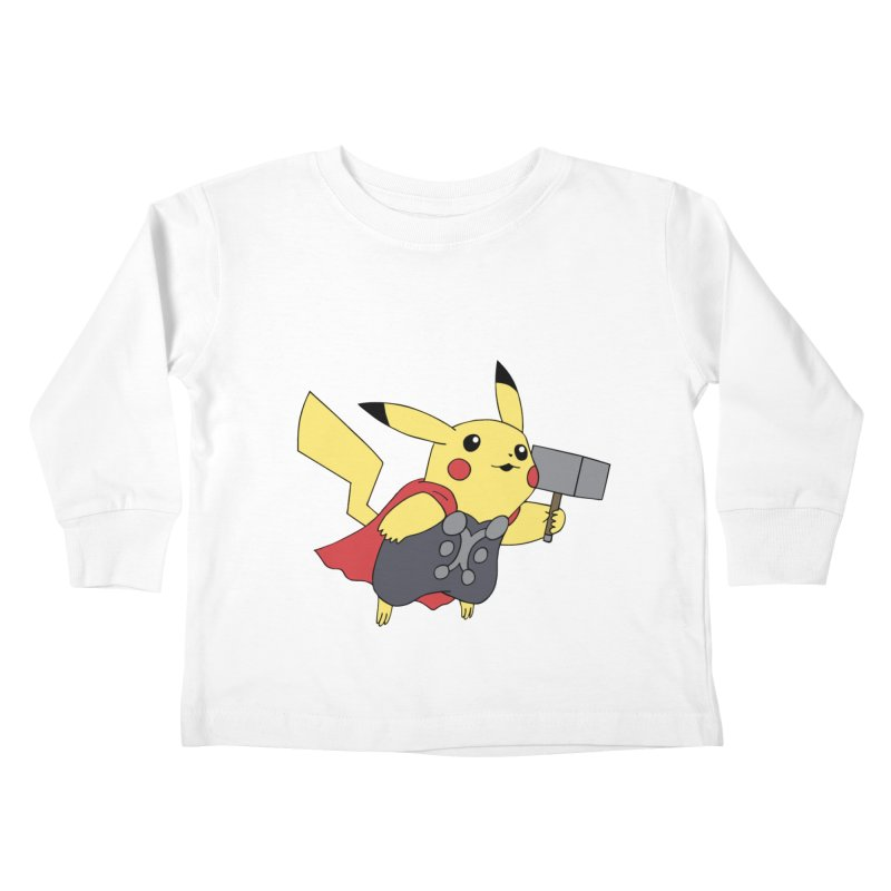 Pikathor Kids Toddler Longsleeve T-Shirt by richardtpotter's Artist Shop