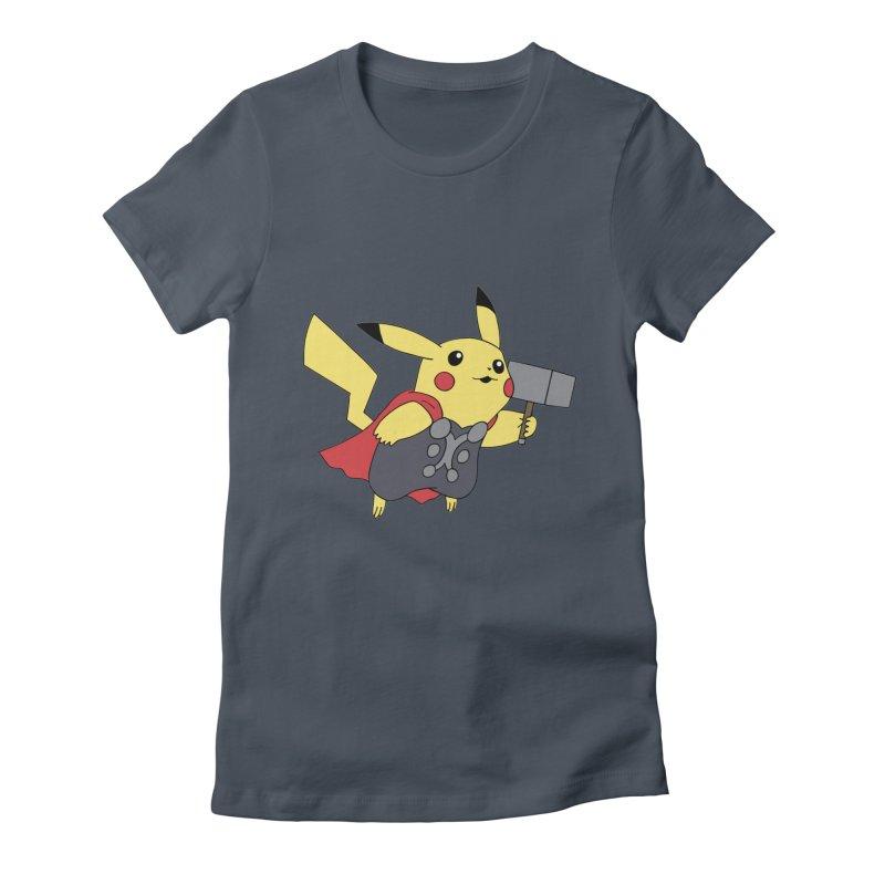 Pikathor Women's Fitted T-Shirt by richardtpotter's Artist Shop