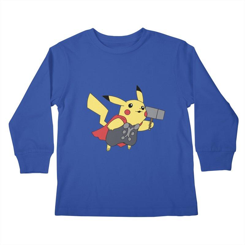 Pikathor Kids Longsleeve T-Shirt by richardtpotter's Artist Shop