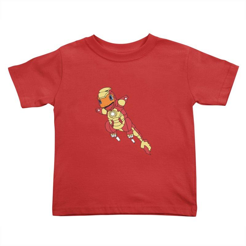 Ironmander Kids Toddler T-Shirt by richardtpotter's Artist Shop