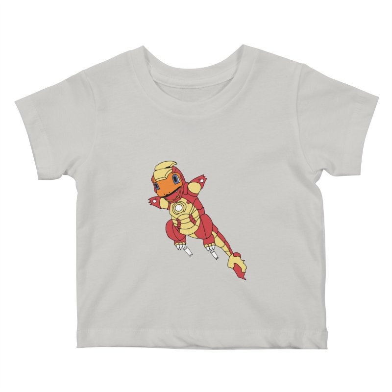 Ironmander Kids Baby T-Shirt by richardtpotter's Artist Shop