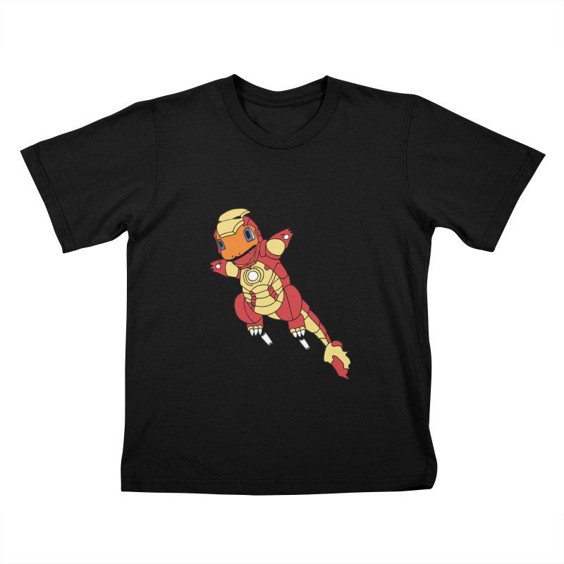 Ironmander Kids T-shirt by richardtpotter's Artist Shop