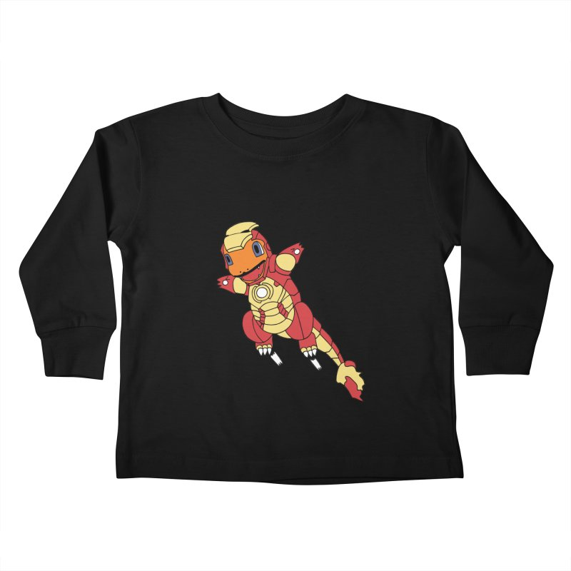 Ironmander Kids Toddler Longsleeve T-Shirt by richardtpotter's Artist Shop