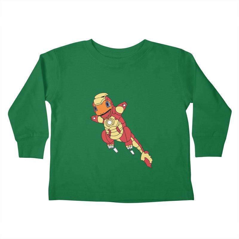 Ironmander Kids Toddler Longsleeve T-Shirt by richardtpotter's Artist Shop