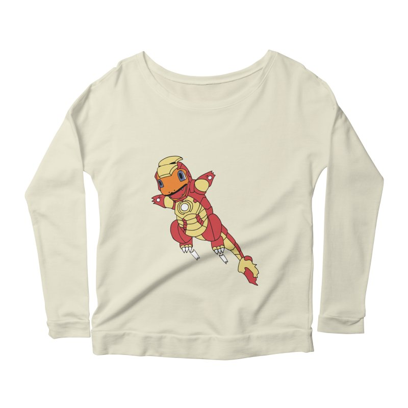 Ironmander Women's Longsleeve Scoopneck  by richardtpotter's Artist Shop