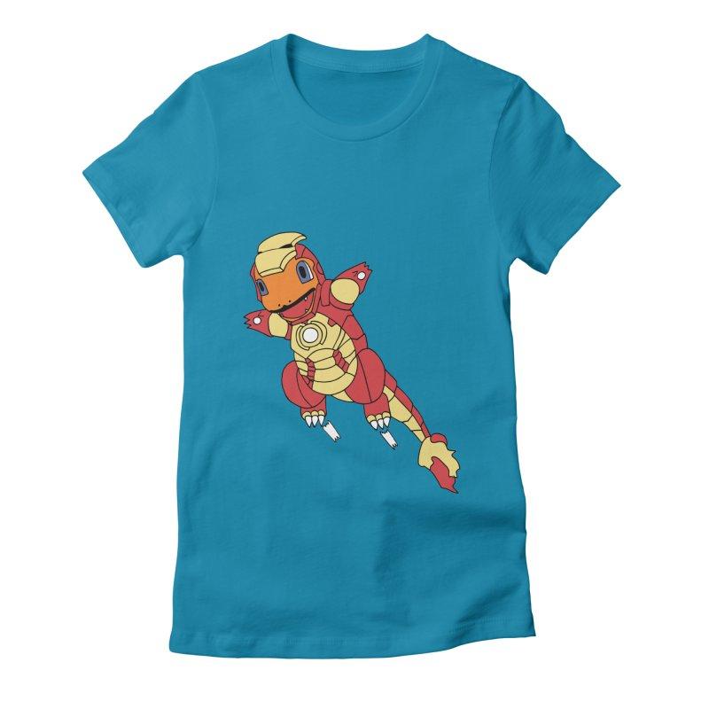 Ironmander Women's Fitted T-Shirt by richardtpotter's Artist Shop