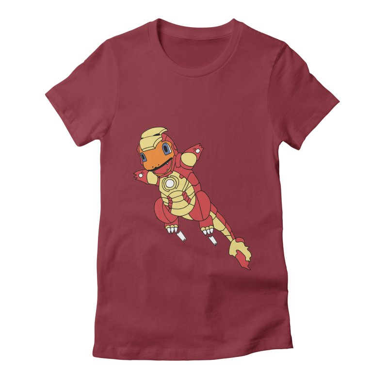 Ironmander Women's Fitted T-Shirt by richardtpotter's Artist Shop